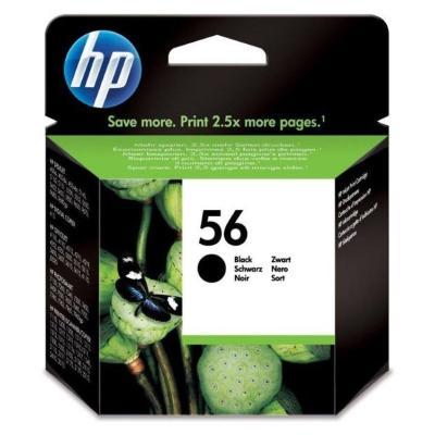 Inkoustová náplň HP 56 (C6656AE) černá