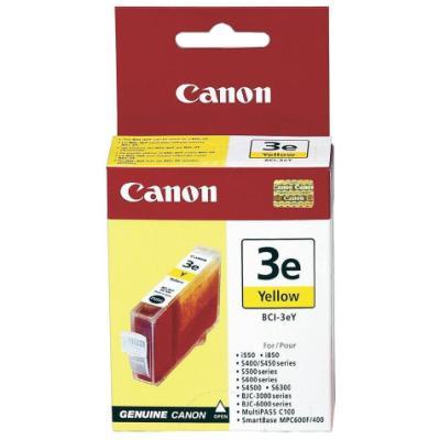 Inkoustová náplň Canon BCI-3eY žlutá