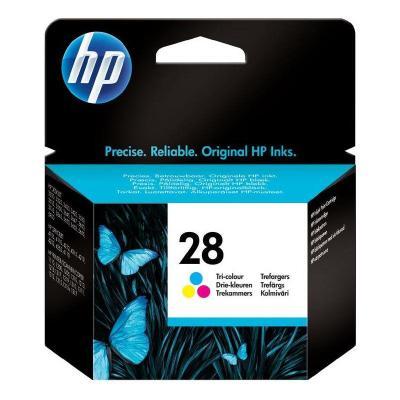 Inkoustová náplň HP 28 (C8728AE) CMY