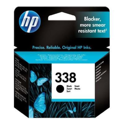 Inkoustová náplň HP 338 (C8765EE) černá