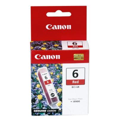 Inkoustová náplň Canon BCI-6R červená