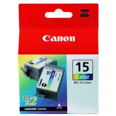 Inkoustová náplň Canon BCI-15C barevná 2 ks