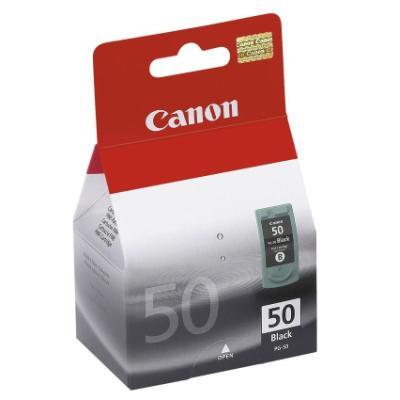Inkoustová náplň Canon PG-50Bk černá