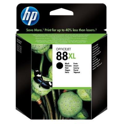 Inkoustová náplň HP 88 (C9396AE) černá