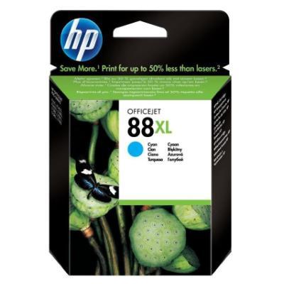 Inkoustová náplň HP 88XL (C9391AE) modrá