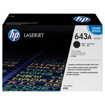 Toner HP 643A (Q5950A) černý