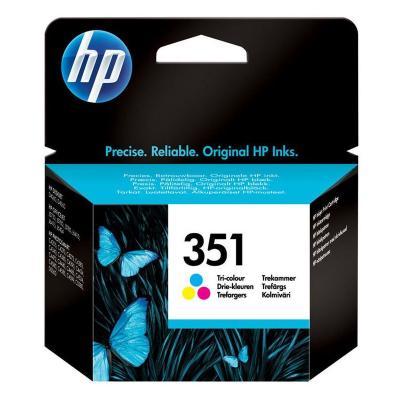 Inkoustová náplň HP 351 (CB337EE) CMY