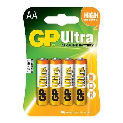 Baterie GP AA alkalické 4ks