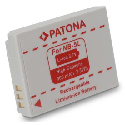 Baterie PATONA kompatibilní s Canon NB-5L