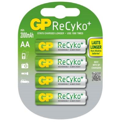 Nabíjecí baterie GP Recyko+ AA Ni-MH 2000mAh