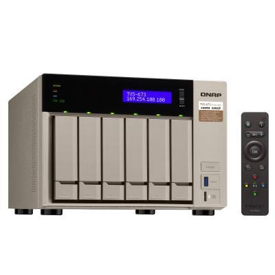 Síťové úložiště NAS QNAP TVS-673-8G