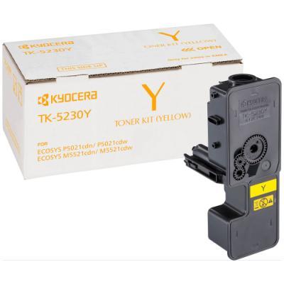Toner Kyocera TK-5230Y žlutý