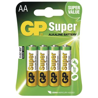 Baterie GP Super 1,5 V AA (LR6) 4 ks