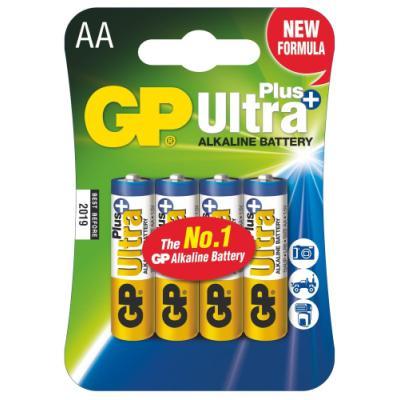 Baterie GP Ultra Plus 1,5 V AA (LR6) 4 ks