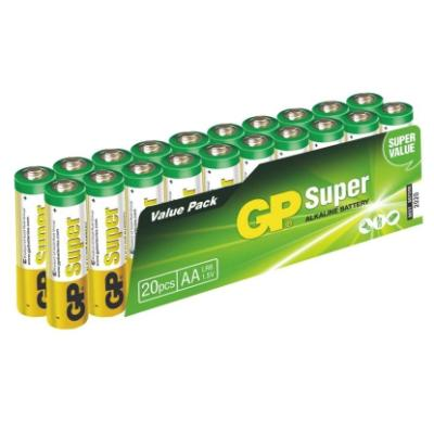 Baterie GP Super 1,5 V AA (LR6) 20 ks