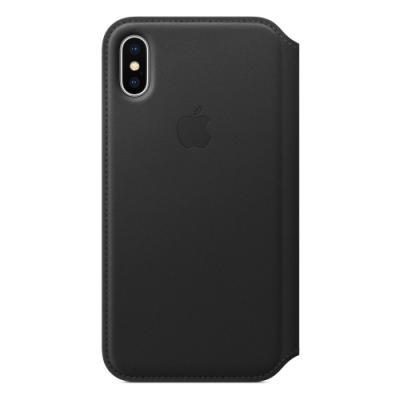 Ochranný kryt Apple Folio pro iPhone X černý