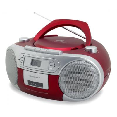 Rádio Soundmaster SCD5410RO červené