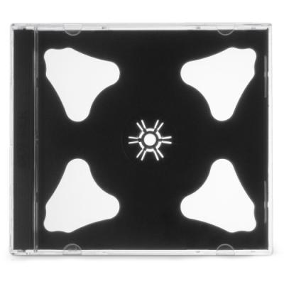 Obal na CD COVER IT pro 2 disky plastový 10mm 10ks