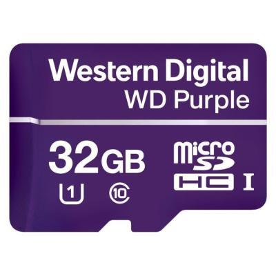 Paměťová karta WD Purple MicroSDHC 32GB