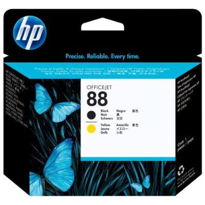 Tisková hlava HP 88 (C9381A) černá žlutá