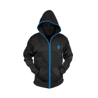 Mikina Dell Alienware Zip-Glow Hoodie černá XL