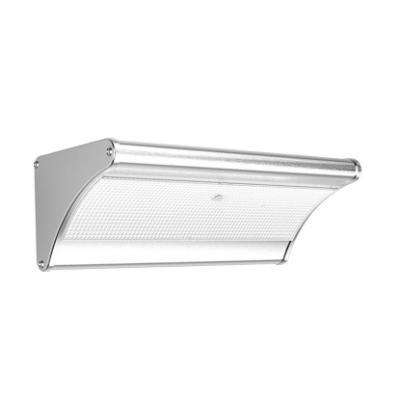 LED reflektor IMMAX solární s čidlem 3,2W stříbrný