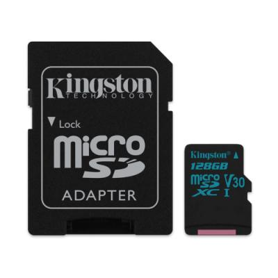 Paměťová karta Kingston Canvas Go Micro SDXC 128GB
