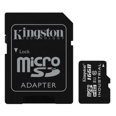 Paměťová karta Kingston Industrial Micro SDHC 16GB