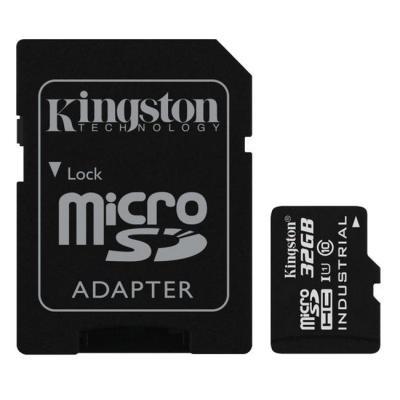 Paměťová karta Kingston Industrial Micro SDHC 32GB