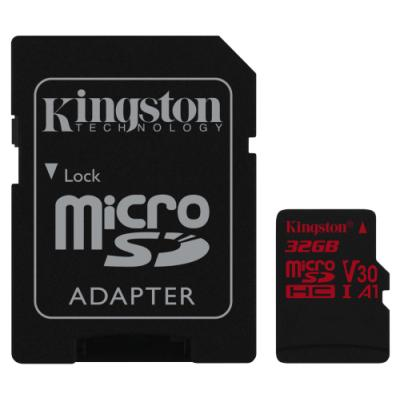 Paměťová karta Kingston Canvas React MicroSD 32GB