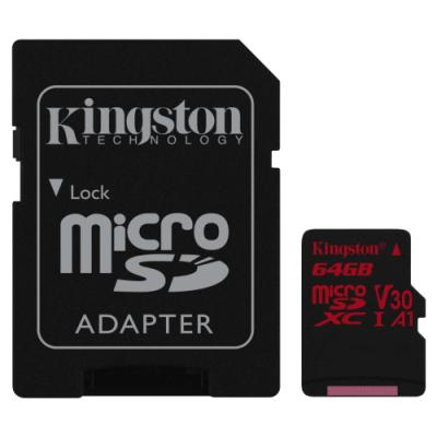 Paměťová karta Kingston Canvas React MicroSD 64GB