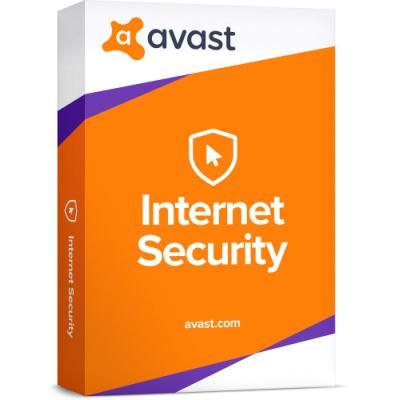 Antivir Avast Internet Security pro 1 počítač