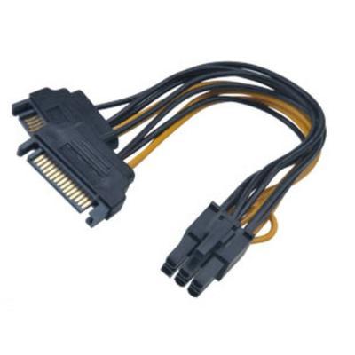 Kabel Akasa SATA na 6pin PCIe