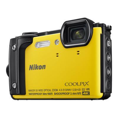 Digitální fotoaparát Nikon Coolpix W300 žlutý