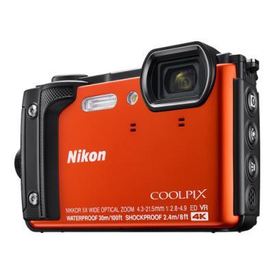 Digitální fotoaparát Nikon Coolpix W300 oranžový