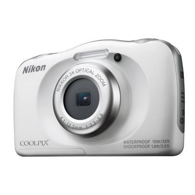 Digitální fotoaparát Nikon Coolpix W100 bílý