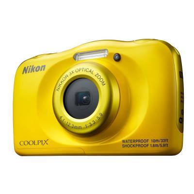 Digitální fotoaparát Nikon Coolpix W100 žlutý