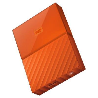 Pevný disk WD My Passport 2TB oranžový