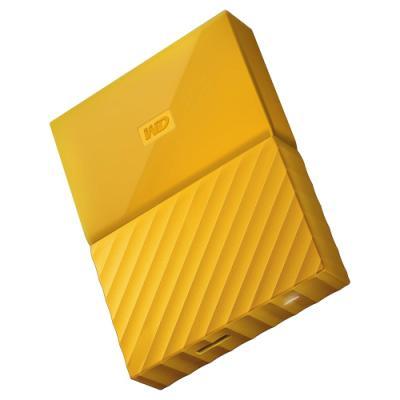 Pevný disk WD My Passport 2TB žlutý