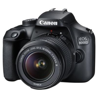 Zrcadlovka Canon EOS 4000D + EF-S 18-55 mm DC III