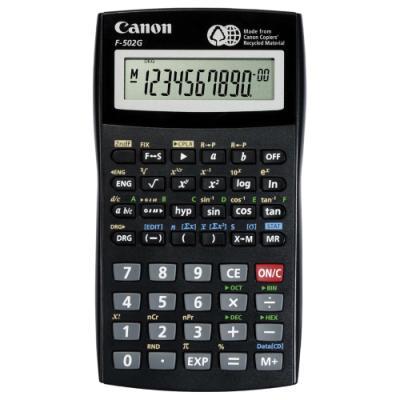 Kalkulačka Canon F-502G