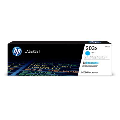 Toner HP 203X (CF541X) modrý
