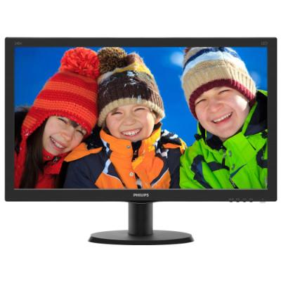 LED monitor Philips 240V5QDSB 23,8""