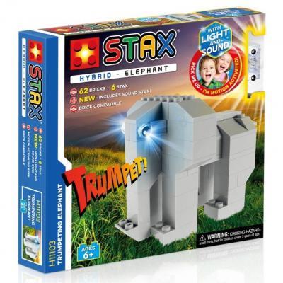 Stavebnice Light STAX Hybrid Trumpeting Elephant