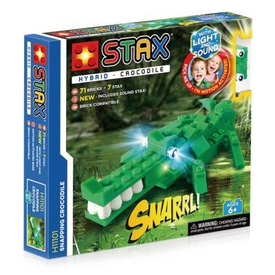 Stavebnice Light STAX Hybrid Snapping Crocodile