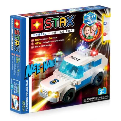 Stavebnice Light STAX Hybrid Flashing Police Car