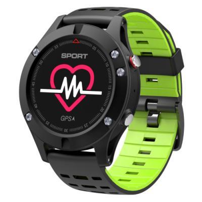 Chytré hodinky IMMAX SW8 černo-zelené