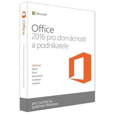 Software MS Office pro podnikatele 2016 5x + dárek
