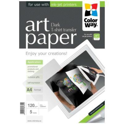 Fotopapír ColorWay Art Paper nažehlovací 5ks