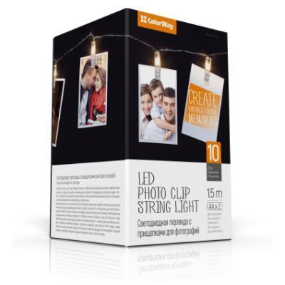 LED fotokolíčky ColorWay CW-LCP-10L15B